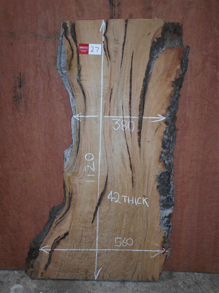 Timber Slab - Yellow Box (Australian Hardwood)