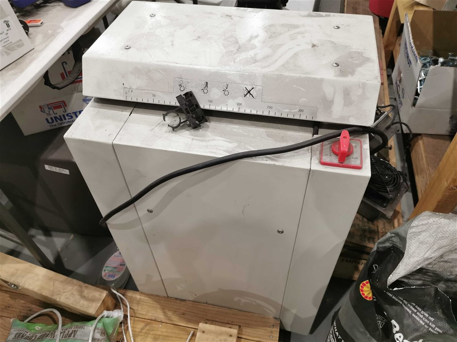 Cardboard Box Shredder (Used)