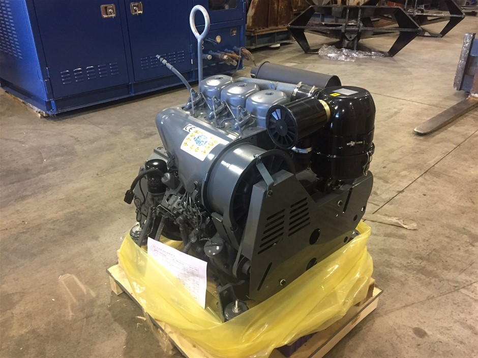 Unused Benei 3 Cyl Air Cooled Diesel Engine