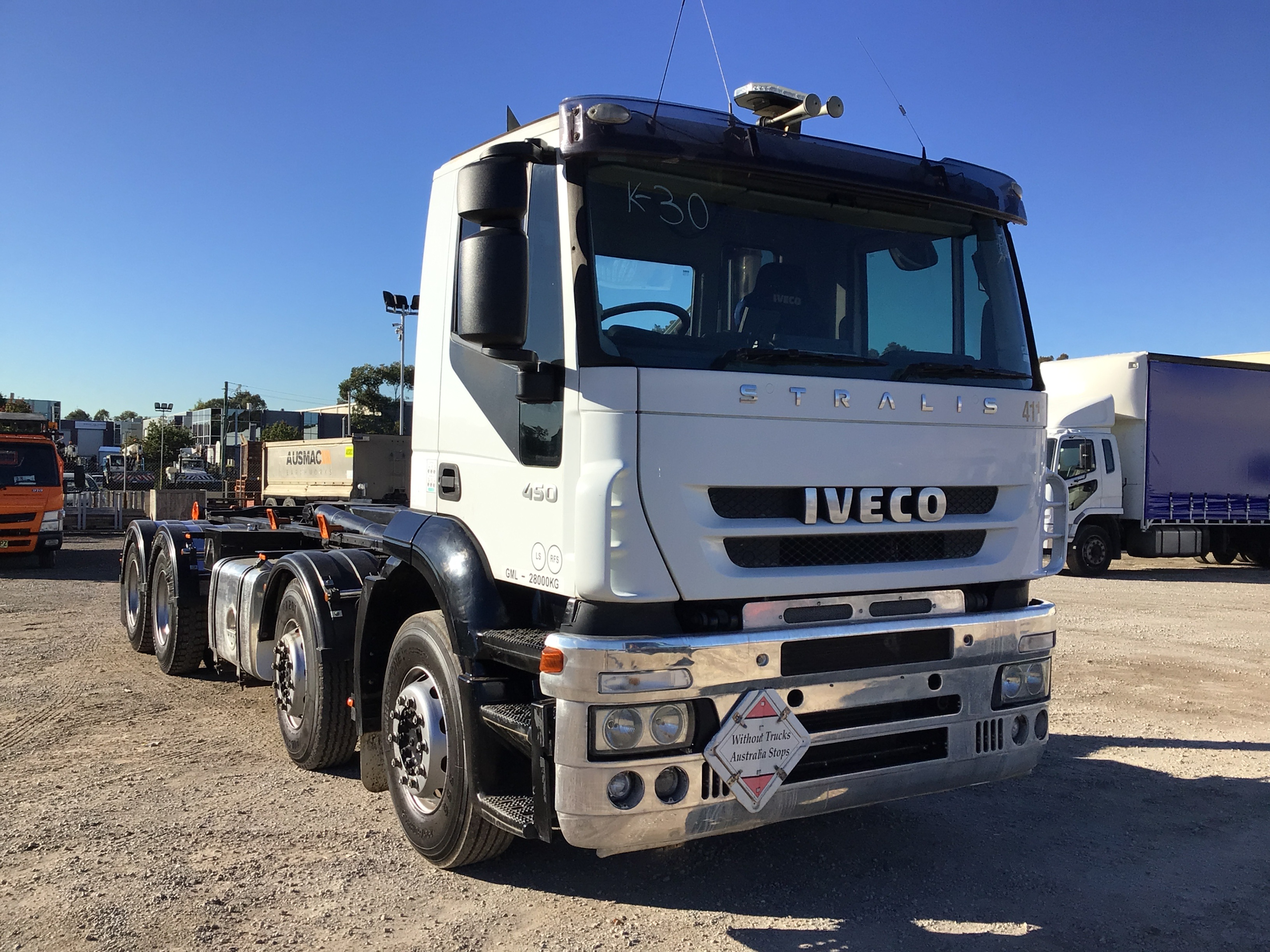 2012 Iveco Stralis 450 8 x 4 Hooklift Truck