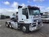 <p>2001 Iveco Euro Tech 4700 6 x 4 Prime Mover Truck</p>