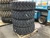 <p>4 x Bridgestone 15.5R25 Machine Tyres on 12 Stud Rims </p>
