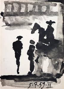 Pablo PICASSO (b.1881-1973) VINTAGE 1961