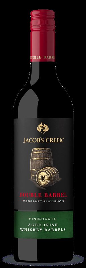 Jacobs Creek Double Barrel Cabernet Sauvignon 2018 (6 x 750mL), SA.
