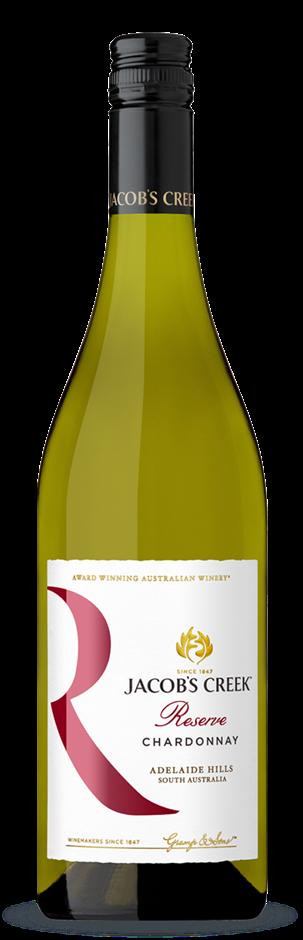 Jacobs Creek Reserve Chardonnay 2019 (6 x 750mL), Adelaide Hills, SA.