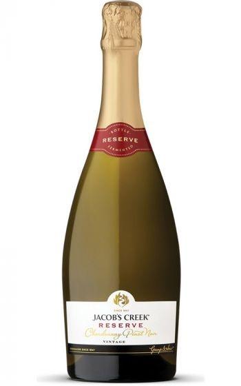 Jacobs Creek Reserve Sparkling Chardonnay Pinot 2019 (6 x 750mL), SE AUS