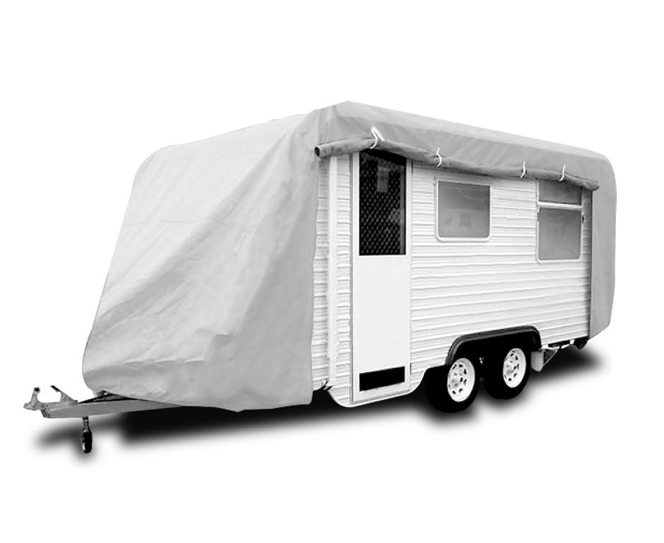 Caravan Cover with zip 14-17 ft