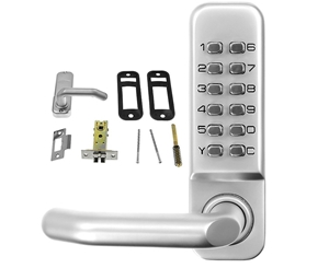 Push Button Digital Combination Security