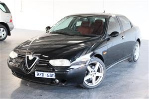 2002 Alfa Romeo 156 JTS Manual Sedan