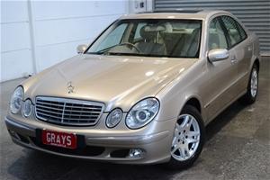 2003 Mercedes Benz E240 Classic W211 Aut