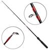 CROCODILE 2pc Carbon Fishing Rod 2.1M, Capacity 100-250g. Buyers Note - Dis