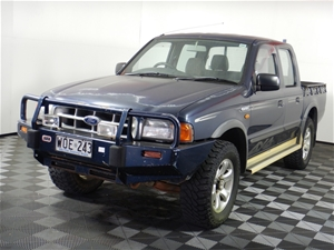 2000 Ford Courier XL (4x4) PE Turbo Dies