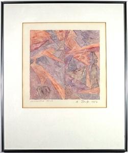 ROBERT JACKS (1943-2014) ORIGINAL Painti