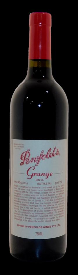 Penfolds Bin 95 Grange 2014 (1x 750mL), SA