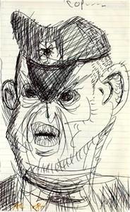 ADAM CULLEN (b.1965-2012) ORIGINAL Ink D