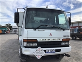 2000 Mitsubishi Fighter FM 6 x 2 Tray Body Truck
