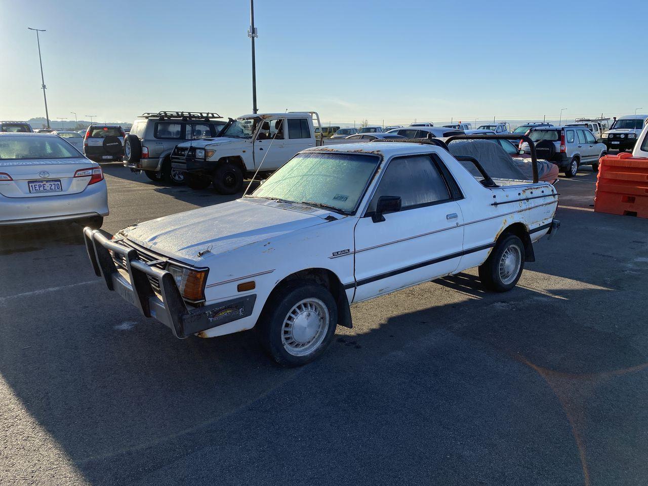 1988 Subaru Brumby Manual Ute Barn Find