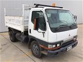 1999 Mitsubishi Canter 500/600 4 x 2 Tipper Truck