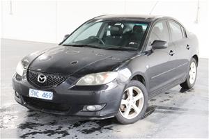 2004 Mazda 3 Maxx Sport BK Manual Sedan