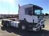 2001 Scania 124 420 6x4 Prime Mover Truck