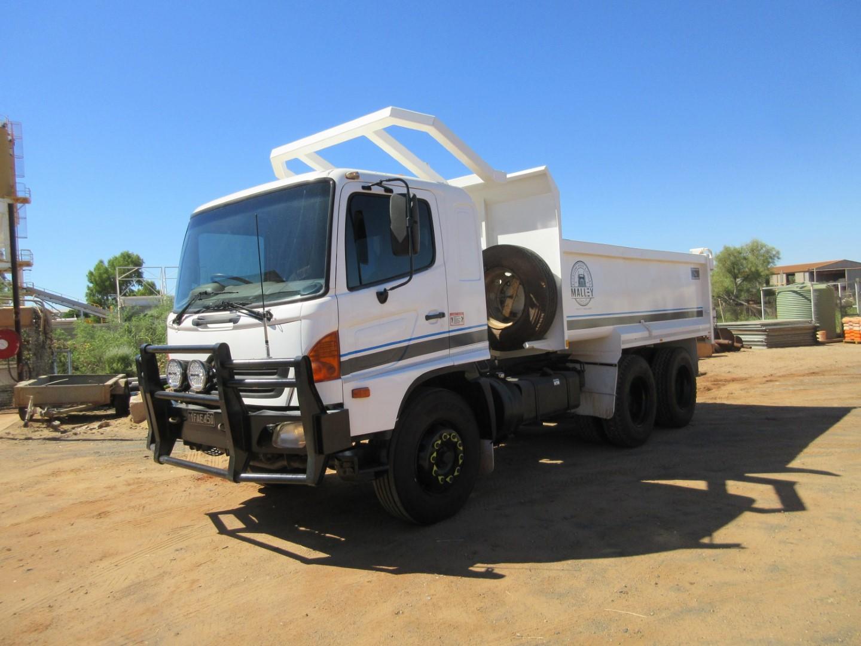 2007 Hino FM1J Series 2 6 x 4 Tipper Truck (Karratha)