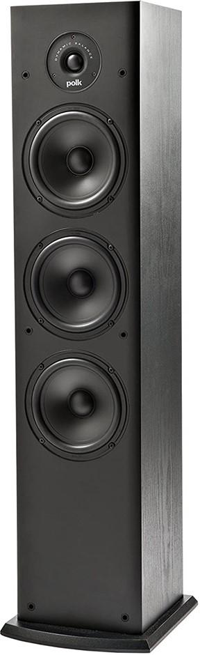 Polk Audio T50 150w Home Theater Standing Tower Speaker (T50-BLACK)