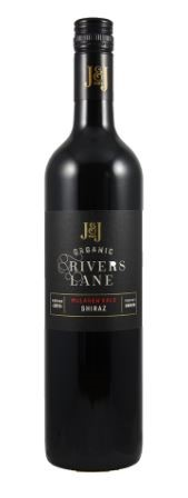 J & J Wines Organic Rivers Lane Shiraz 2017 (6 x 750mL) McLaren Vale, SA