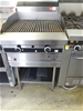 Garland Gas Char Grill on Stand with Undershelf