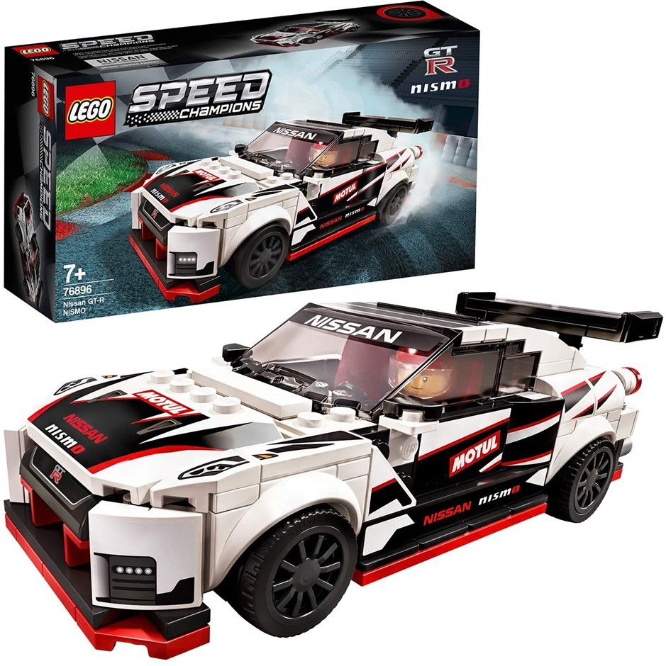 LEGO Speed Champions Nissan GT-R NISMO 76896 Toy Model Cars Building Kit. B