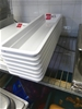 Qty 7 x Long Rectangular Containers