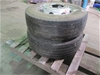 Qty 2 x Cleanskin Tyres on Rims