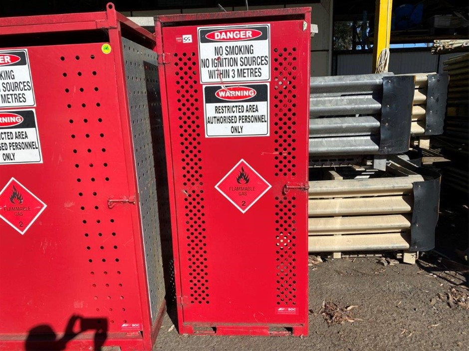 Oxy/Acetylene Storage / Transport Cage