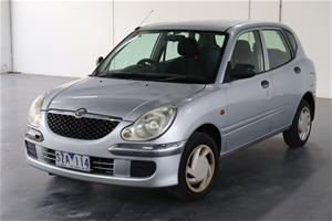 2004 Daihatsu Sirion M100 Automatic Hatc