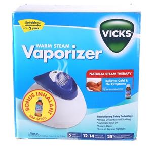 VICKS Warm Steam Vaporizer. N.B. Minor u