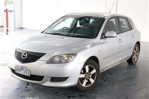 2006 Mazda 3 Maxx BK Manual Hatchback