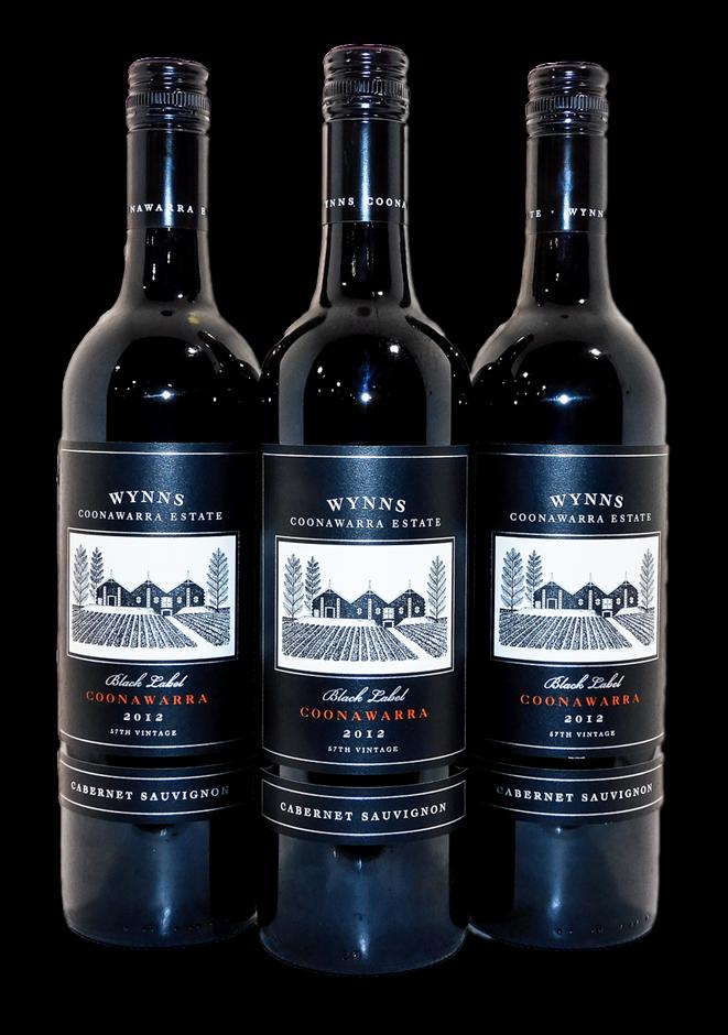 Wynns Black Label Cabernet Sauvignon 2012 (3x 750mL), Coonawarra