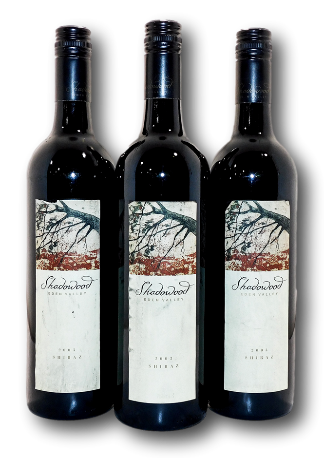 Eden Valley Wines Shadowood Shiraz 2003 (3x 750mL), Eden Valley