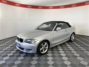 2011 BMW 120i E88 Automatic Convertible