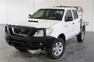 2013 Toyota Hilux SR (4x4) KUN26R Turbo
