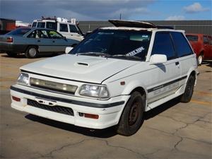 1988 Toyota Starlet turbo S EP71 (IMPORT