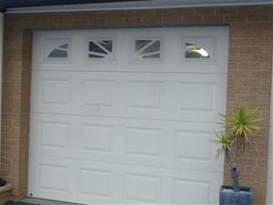 B & D Panel Lift Garage Door (No Motor)
