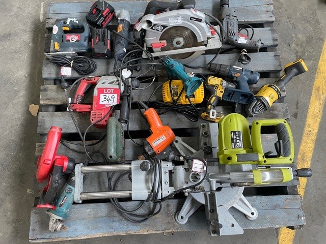 Pallet of Assorted Power Tools