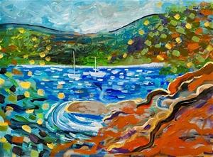 Wisemen's Ferry - Original paintedl artw