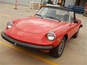 SA Classic Cars 1978 Alfa Romeo Spider Manual Convertible