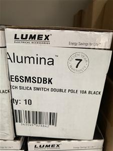 Qty 10 x Lumex Alumina Silica Light Swit