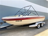1989 Reinell Bowrider Boat, 302 Ford Engine