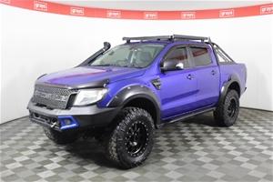 2014 Ford Ranger XLT 4X4 PX Turbo Diesel