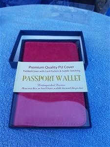 10 x Passport wallet,
