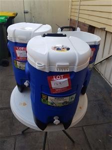 3 X Igloo Cooler 5 Gallon drinking water