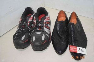 Lot of 2 Assorted Pairs of Shoes